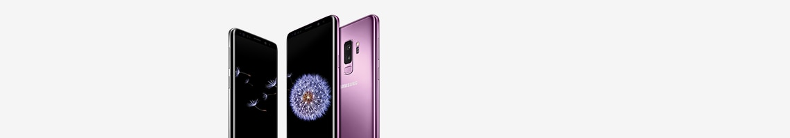 Samsung S9 and S9+ devices