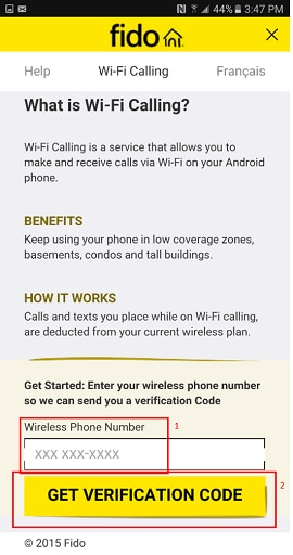 WiFi Calling | How to use WiFi Calling | Fido