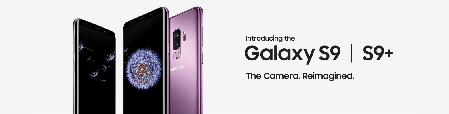 The new Galaxy S9 & S9+