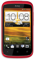 HTC Desire C - Red
