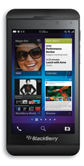 BlackBerry Z10 - Accessibility features