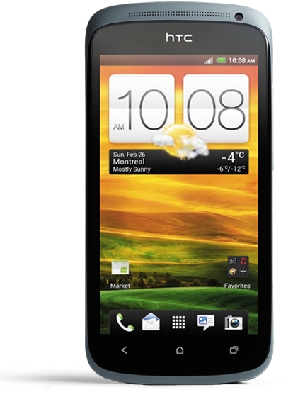 HTC One S Vue de face