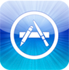 iPhone 5 - App store logo