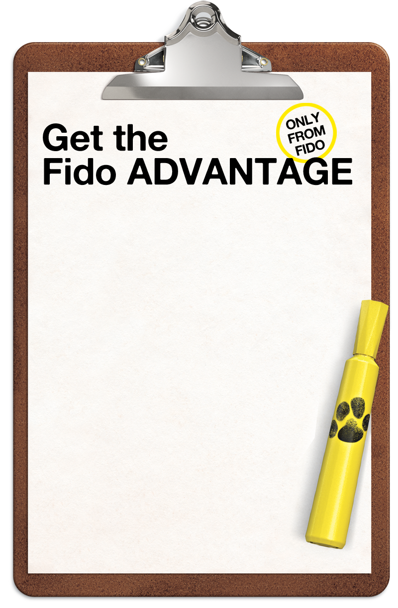 Get the Fido ADVANTAGE