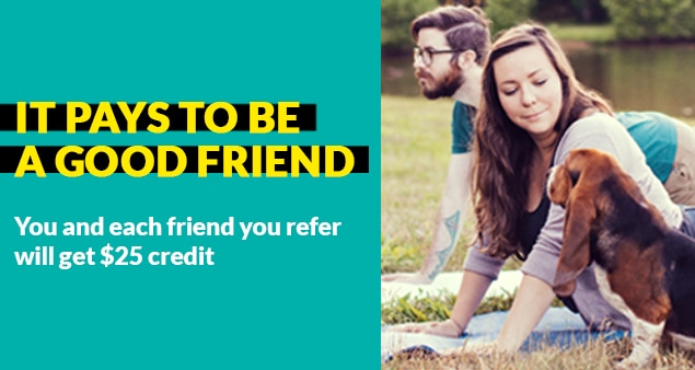 Refer a friend - Enrich your friendships