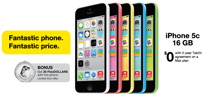 Amazing phone. Amazing price. iPhone 5c 16GB - 0$