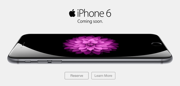 Apple Iphone 6 - Reserve it now