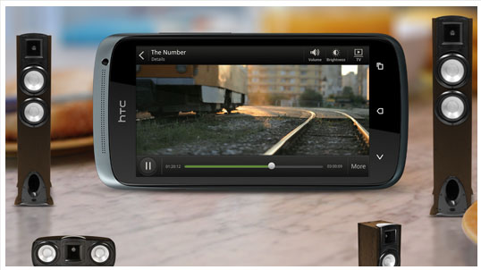 Le son authentique du HTC One S est optimisé par Audio Beats, le summum en matière d'audio